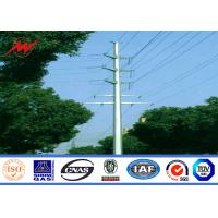 Quality NEA Steel poles 20m Stee Utility Pole for electrical transmission for sale