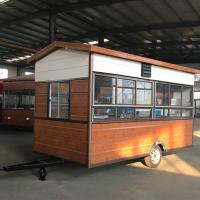 China Rust Resistant Protective Coating Hot Dog Concession Trailer CE Certification on sale
