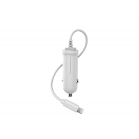 Quality 2.4A Lightning 18W PC ABS 18W Single Port Car Charger With Cable for sale