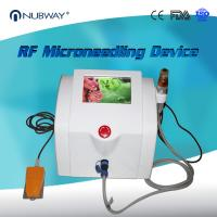 China Nubway Scar Removal Skin Tightening Fractional RF Micro Needle Machine on sale