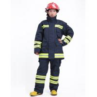 Quality OEM EN469 Certified Firefighter Uniform Flame Retardant Clothing with Dupont  Nomex IIIA for sale