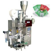 Buy cheap Automatic Filter Green Tea Tea Packaging Machine With Outer Envelope , SUS304 Material product