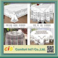 Quality Supplier Pool Table Cloth PVC Table Cloths  For Home / Hotel / Picnic / Restaurant for sale