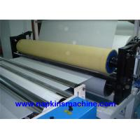 Buy cheap Steel Embossing Paper Roll Rewinding Machine And Toilet Roll Cutting Machine product