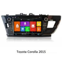 China 9 Car Multimedia Navigation System , Car Gps Tracking Device For Toyota Corolla 2014 on sale