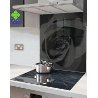 Buy Stove High Temperature Ceramic Glass Panels , Ceramic Glass Sheet Solid Structure at wholesale prices