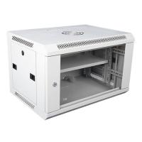 Quality Wall Mount Locking Server Small Network Cabinet Mobile Server Rack In White for sale