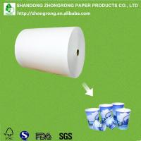 China Pe coated paper cup raw material with lowest price on sale