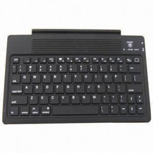 Quality 76 Keys Bluetooth Keyboard for iPad2/3, Waterproof, Intelligent Dormancy Function for sale