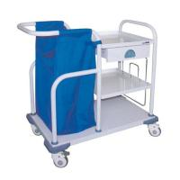 China Hospital Treatment Nursing Care Crash Cart Trolley With Bag For Long Life on sale