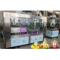 Quality Glass Bottle Filler Machine Automatic Juice / Tea Bottling Filling Machine 6000 - 8000BPH for sale