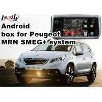 Quality Peugeot SMEG+ MRN GPS Navigation Box WiFi Android Car Navigation Video Interface for sale