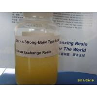 China Strong-Base Type I (Gel) Anion Exchange Resin on sale