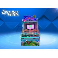 China 32 Inch Screen Amusement Game Machines Throw Ball / Happy Pitching Redemption Arcade Games on sale