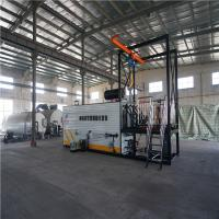 Double Heating Bitumen Drum Decanter Container Loading With Electric Hoist Drum Lifting