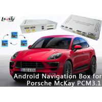 Quality Android 6.0 Video Interface Navigation Box for 2010-2016 Porsche Macan (PCM 3.1) for sale