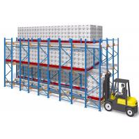 Quality Frozen Warehouse Shuttle Pallet Racking System Semi Automatic Racking for sale