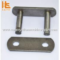 Buy cheap ISO Standard Steel Asphalt Paver Import Conveyor Chain Links In Stock product