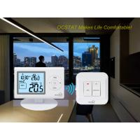 Quality White Color OEM / ODM Digital Programmable RF Room Thermostat for HVAC Systems for sale
