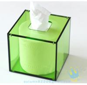 Quality green napkin holder for sale