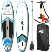 Quality 15PSI 3 Fin 304*83*15cm Racing Inflatable SUP for sale