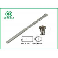 Quality Sand Blasted Metric Masonry Drill Bits U Flute Tungsten Carbide Tipped for sale