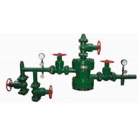 Quality API 6A Water injection wellhead X-mas tree with tubing head,top/bottom flange,cross,clamp,gate valve,pressure gauge for sale