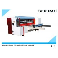 Quality High Speed Die Cutting And Creasing Machine Lead Edge Feeding Paper 160Pcs/Min for sale