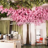 Eco Friendly Pink Artificial Cherry Blossom Tree Sakura Flower House Office for sale