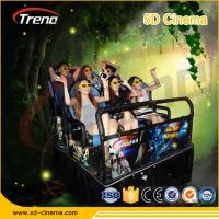 Buy cheap Hydraulic / Electronic System 7d Motion Ride Simulator 7d Cinema With 4d Motion Chair from wholesalers