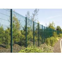 Quality Custom Pvc Powder Coated 2D Welded Mesh Fencing Low Carbon Iron Wire for sale