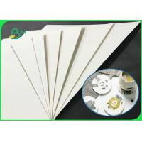 China Eco - Friendly 0.6mm - 1.4mm Uncoated Coaster Paper In Sheet For Beer Mat on sale