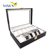 Buy cheap Luxury handmade PU leather travel watch case for man from wholesalers