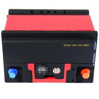 Quality Lightweight Powerful Lifepo4 Car Battery 1500A 12.8V With BMS Quick Charge for sale