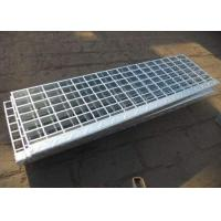 China Customized Size Galvanized Steel Stair Treads ISO9001 CE Certificate on sale