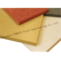 China Fire Resistence Interior & Exterior Wall Pressure Board Fire Proof Colored Cement Fiber Panel on sale
