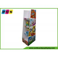 Offset Printing Cardboard Retail Display Stands , Shinny Corrugated Pop Displays For Sky Bouncer FL177