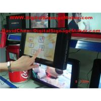 """10"""" Touch screen digital signage,ad player, Touch screen display"""