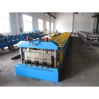 Roof Construction Deck Roll Forming Machine With 30 Groups Rollers