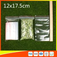 Buy cheap Plastic Tight Seal Ziplock Bags Packing Ziplock Bags With Zipper Red Line product