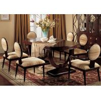 Quality Custom Luxury Dining Room Furniture Sets 180cm Wood Rectangular Dining Table for sale