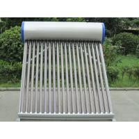 China non-pressurized Solar Water Heater & Solar Water Heating on sale
