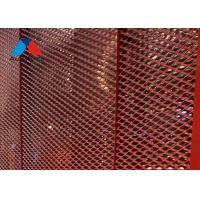 China 4×8 FT Aluminium Grid Mesh Panels , Expanded Mesh Ceiling Panels on sale