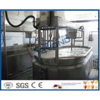 Buy cheap complete set 5000L per hour  industrial Milk processing line for arious kinds of milk products product