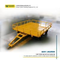 China custom 1-200 ton flat trailer towed by forklift handing equipment on sale