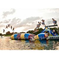 Buy cheap Colorful Catapult Launch Inflatable Water Sports , Inflatable Water Fun product
