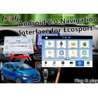 Plug&Play Android Auto Interface for Ford Ecosport Fiesta Focus Kuga with Live Navigation 3D Map Miracast