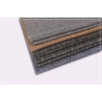 Quality Tartan Plaid Coating Wool Fabric , Double Faced Cashmere Fabric ISO 9001 Certificate for sale