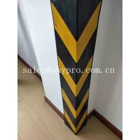 Quality High Strength Sharp Rubber Corner Protector Reflective Rubber Column Wall Parking for sale