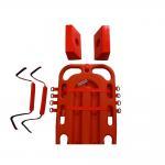 Patients Universal Head Immobilizer Water Resistant With Scoop Stretcher